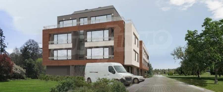 Ein-Zimmer-Wohnung in einem Neubau im Herzen von Vitosha.