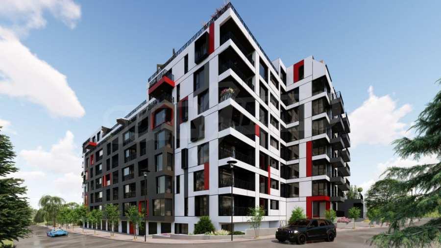 Представителна жилищна сграда до метростанция Бизнес парк