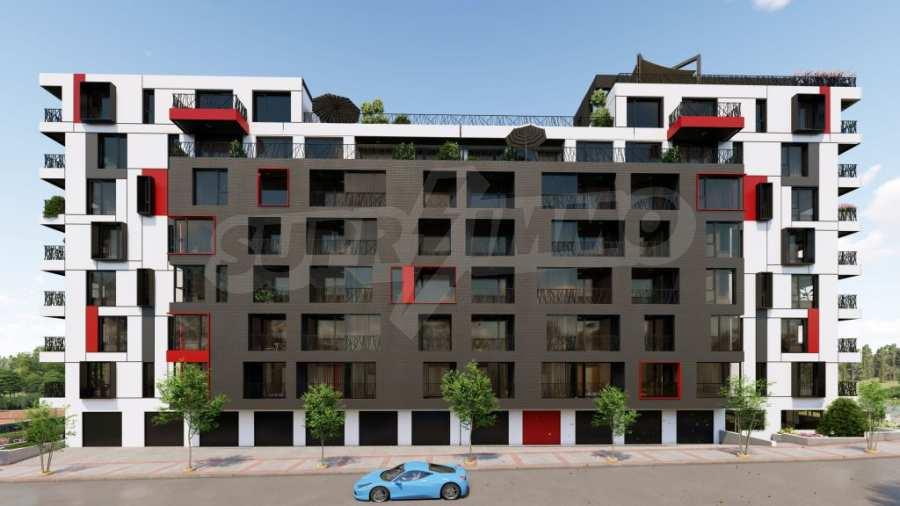 Представителна жилищна сграда до метростанция Бизнес парк 1