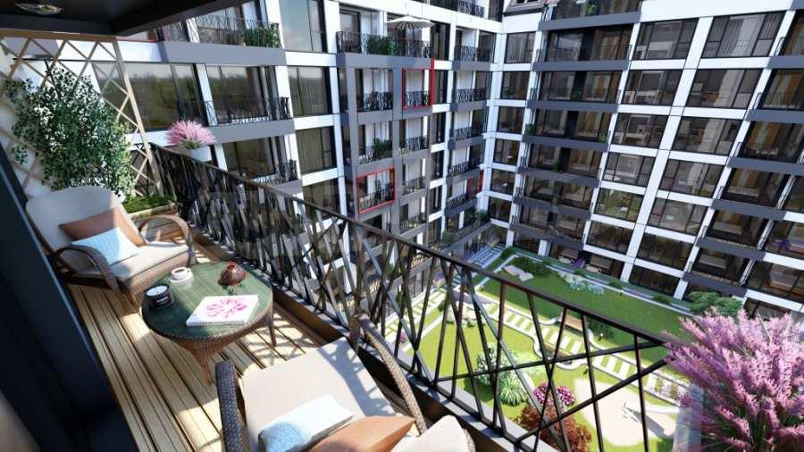 Представителна жилищна сграда до метростанция Бизнес парк 4