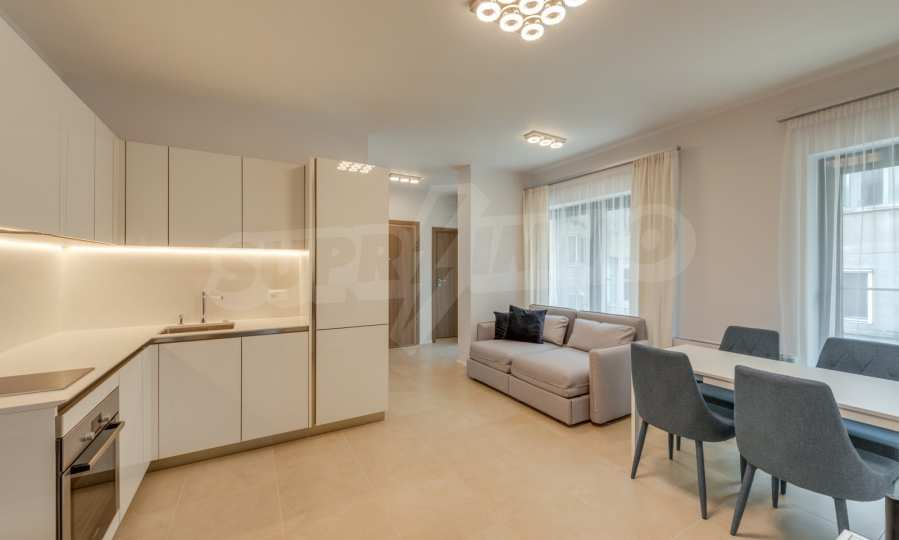 Stylish apartment in a boutique building near the National Palace of Culture