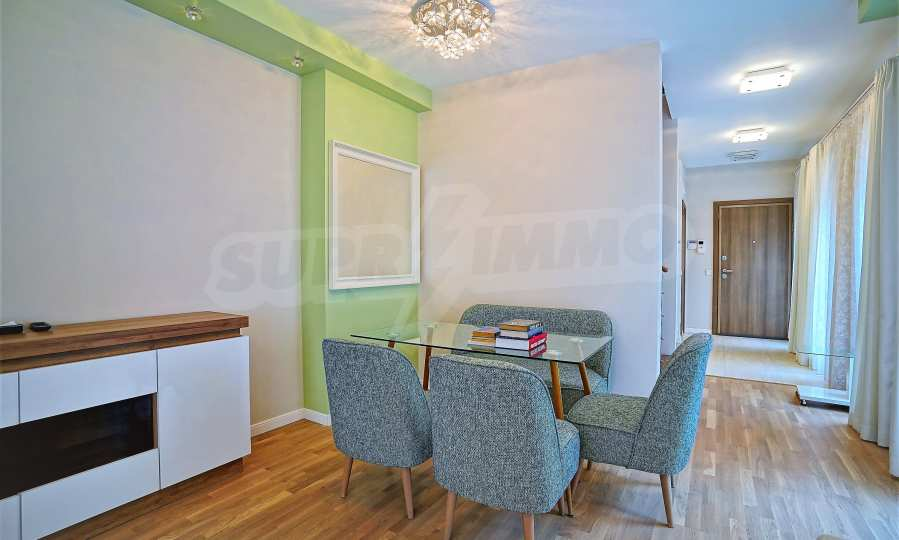 Stylish apartment with parking space in a boutique building near the National Palace of Culture